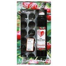 2 x Sour Cherry Liquor from Obidos Mariquinhas + 24 Chocolat cups