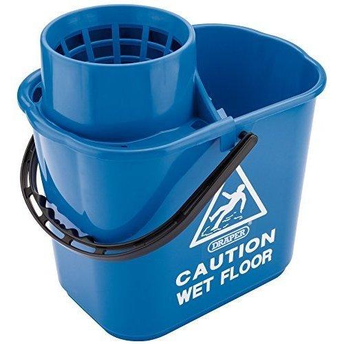 15ltr Prof. Bucket & Wringer - Professional Draper Mop 24836 15l Litre -  professional draper mop bucket 24836 15l litre