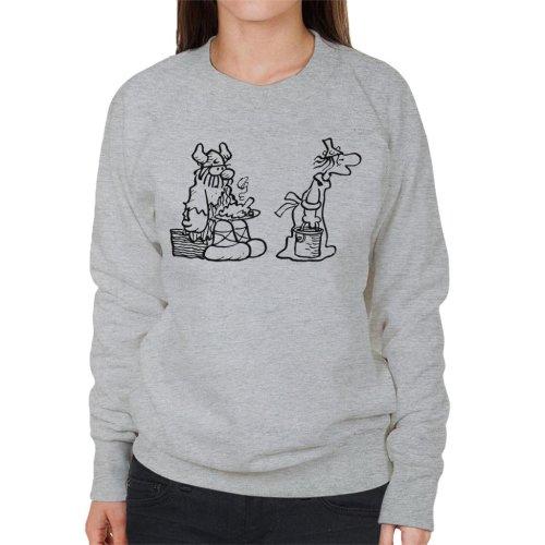 Hagar The Horrible Dinner Is Served Women's Sweatshirt