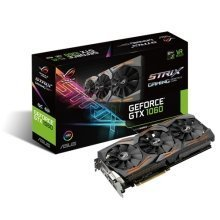 Asus 6Gb NVIDIA GeForce GTX1060 Strix OC PCIe3 VGA Card