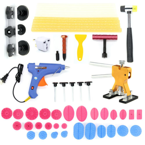 PDR Paintless Dent Puller Lifter Tools Repair Hammer Removal Hail Glue Gun Kit