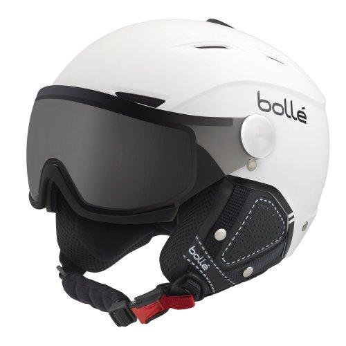 Bolle Backline Visor Premium Helmet - Soft White & Black SM