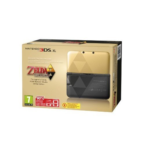 NINTENDO - CONSOLA 3DS XL EDICIoN ESPECIAL LIMITADA ZELDA + CODIGO DESCARGABLE
