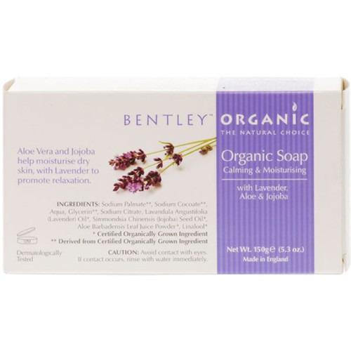 Bentley Organic Smoothing Bar Soap (150g)