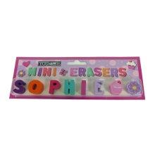 Childrens Mini Erasers - Sophie
