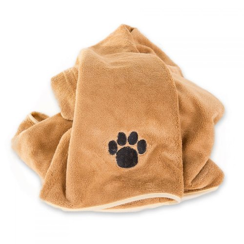 Professional Microfibre pet / dog Blanket - super absorbent & XLarge 90x120cm