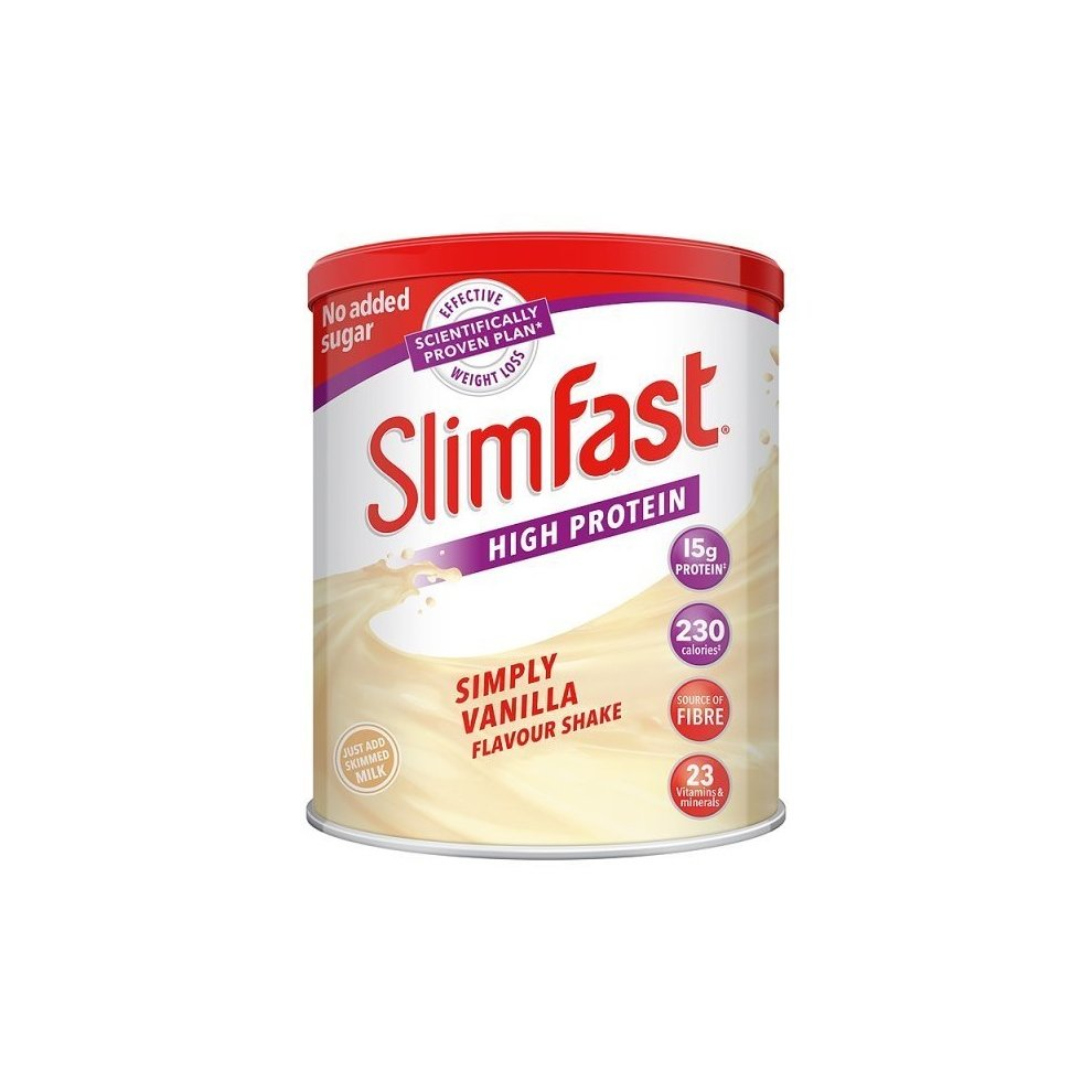 Slim Fast Vanilla Meal Replacement Shake Mix Diet Weight Loss Drink