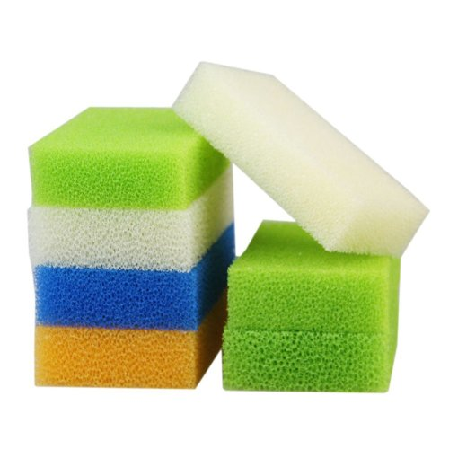10 PCS Magic Sponges Cleaning Supplies Imitation Luffa Random Color