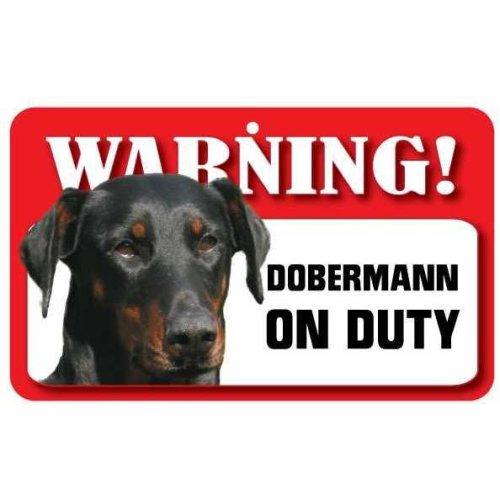 Dobermann Pet Sign