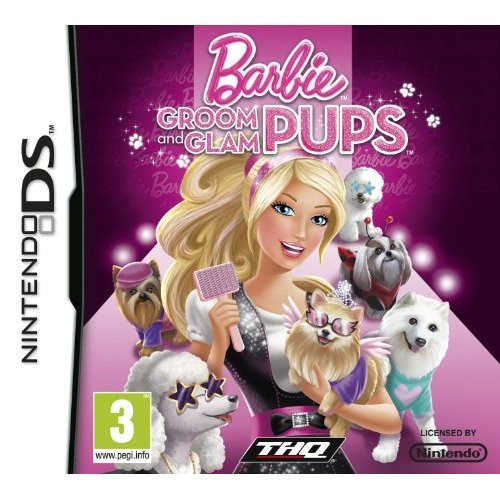 Barbie: Groom and Glam Pups (Nintendo DS)