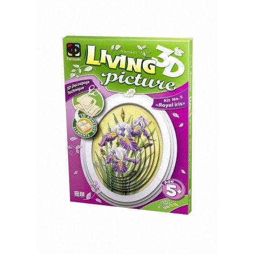 Elf956055 - Fantazer 3d Living Picture - Royal Iris