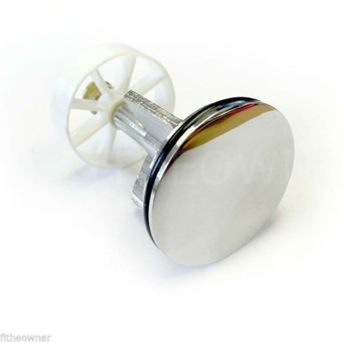 Chrome Plated Pop-Up Plug | Adjustable Sink Plug