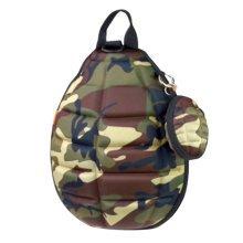 Creative Children Backpack Soft Shoulder Bag Fashion School Bag-Camouflage Color