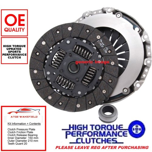 For Honda Civic 1.6 D16V1 EP2 VTEC Sports Uprated Clutch Cover Disc Bearing Kit