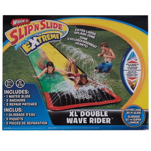 Wham-O 20ft/ 6.m Slip N Slide Extreme XL Double Wave Rider Garden Water Slide
