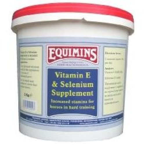 Equimins Vitamin E & Selenium Supplement 3kg