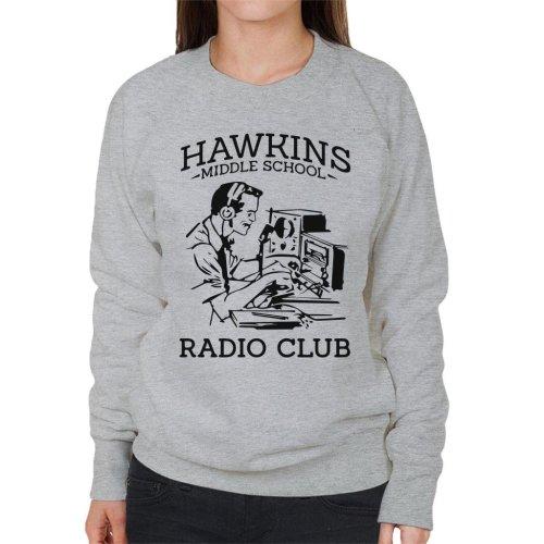 Hawkins Middle School Radio Club Women's Sweatshirt