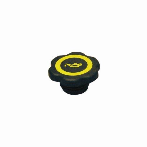 Oil Filler Cap - Black/Yellow - Ford Zetec