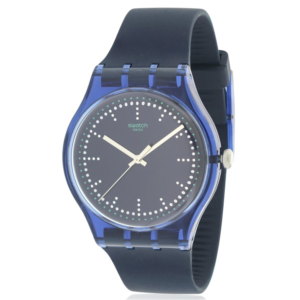 Blue Unisex Pillow Watch Swatch Suon121 tQdshCxr