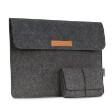 "MoKo 13.5"" Sleeve Bag for Surface Laptop / Surface Book (2015 / 2016) Dark Gray"