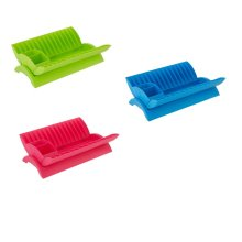 Plastic Dish Drainer With Removable Cutlery Caddy