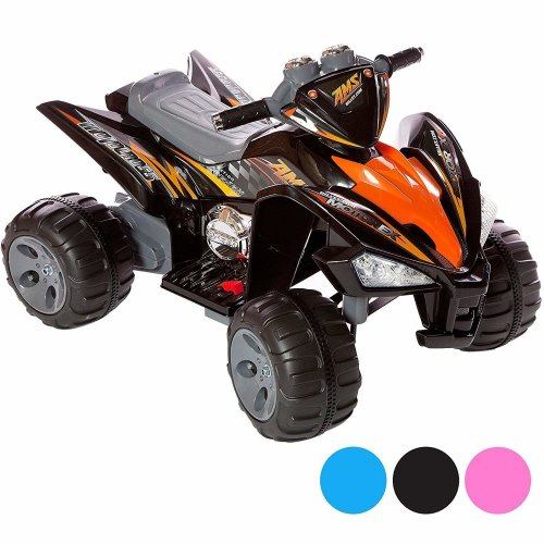 Kids Ride On Quad Bike Pro Raptor Style 12v Electric Battery Toy ATV Car