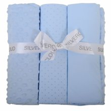 Cot Bed Bedding Bale Blue
