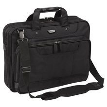 Targus Corporate Traveller Topload Laptop Bag 15.6 Inch - Black