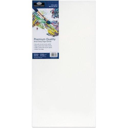 "essentials(TM) Premium Gallery Style Deep Edge Canvas-12""X24"""