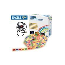 Eagle Static LED Rope Light 6m multi coloured