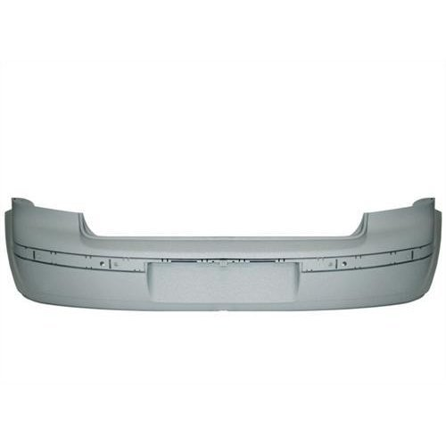 Volkswagen Polo 3 Door Hatchback  2005-2009 Rear Bumper No Sensor Holes - Primed