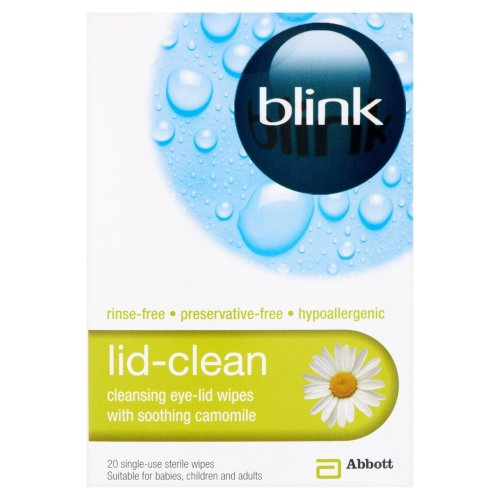 Blink Lid-Clean Sterile Wipes - 20 Wipes