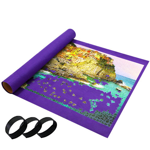 Giant Puzzle Roll Up Mat - Easy Jigsaw Storage
