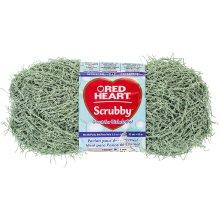 Red Heart Scrubby Yarn-Green Tea