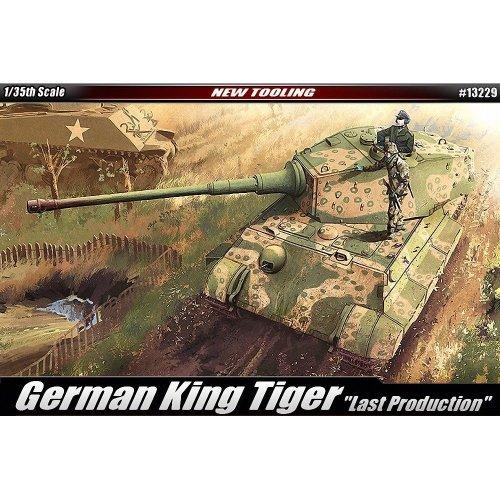 Aca13229 - Academy 1:35 - German Kingtiger 'late Production'
