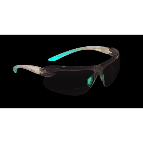 Bolle IRI-S Safety Glasses With Bifocal Dioptric Reading Area +1.5