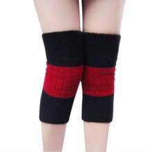 Warmer Knee Brace Sleeve for Sports, Yoga, Dance, Arthritis, Joint Pain, Red L