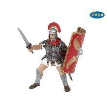Papo Roman Centurion Figurine - Soldier Figures New 39801 -  roman papo centurion soldier figures new 39801