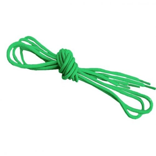 Neon Green Round Shoelaces Strings For Trainers Football Boots