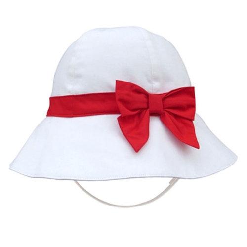 Summer Fashion Princess Ruffles Basin Children Hat Of The Girls  (White)