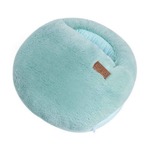 Multi-use Washable Winter Plush Slipper USB Charging Heating Foot Warmer For Home And Office #Green Macaron