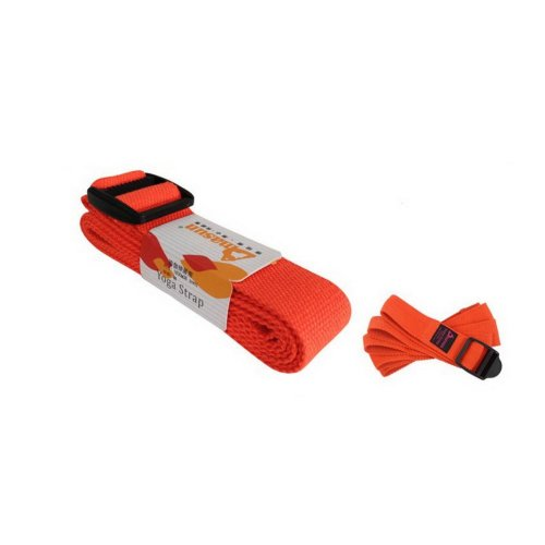 Resistance Band 7'' Long Yoga Stretch Strap Band (Orange)