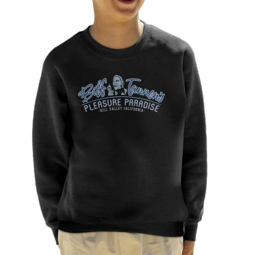 Back To The Future Biff Tannens Pleasure Paradise Kid's Sweatshirt