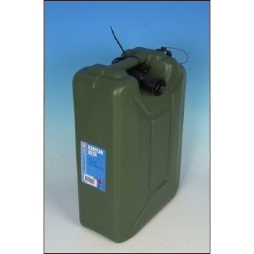 20L Plastic Petrol And Diesel Canister Jerry Can Extra Fuel