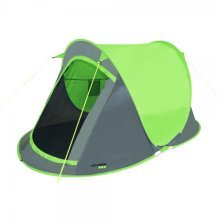 Green 2 Man Fast Pitch Tent -  tent 2 fast pitch yellowstone man lime green person camping blue