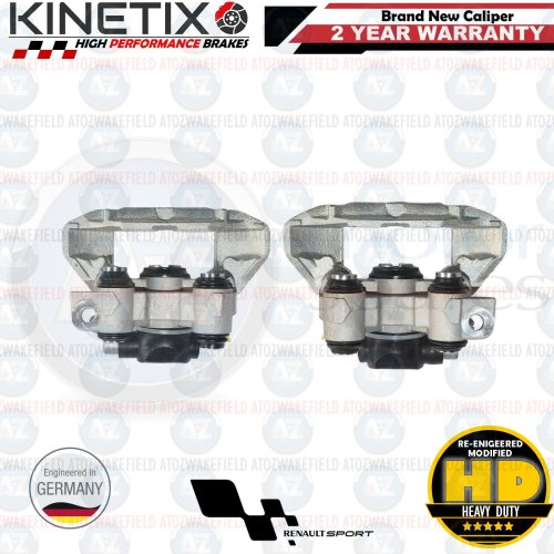 FOR RENAULT CLIO SPORT 172 182 CUP REAR LEFT RIGHT BRAKE CALIPERS PAIR BRAND NEW