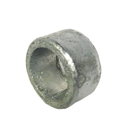 Non threaded spacer / washer 15 mm ID 10 mm length - Galvanised Mild Steel