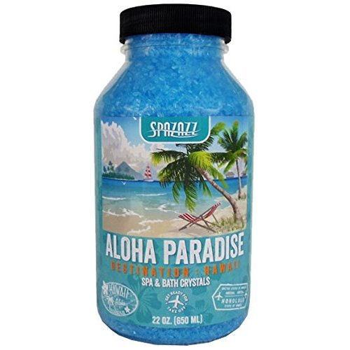 Spazazz SPZ-303 Hawaii Aloha Paradise Destination Crystals Container, 22 oz.