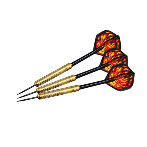 Set of 3  Professional Tungsten Steel Tip Darts with Brass Barrel (19 Grams)