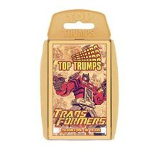 Top Trumps - Transformers (Celebrating 30 Years) Family Card Game New Sealed
